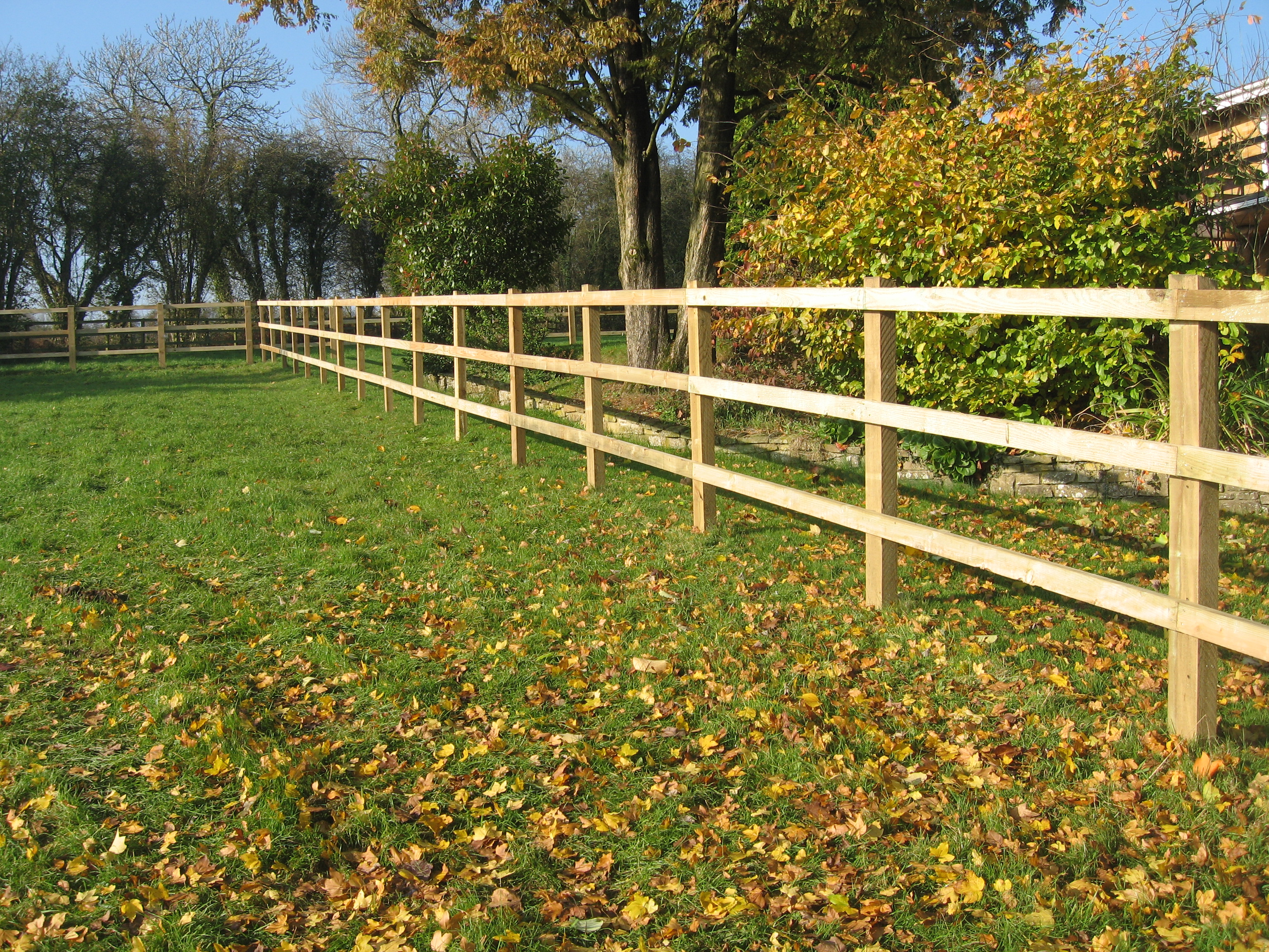 Post Amp Rail Fencing Richard Stubbs Fencing Services