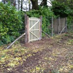 1900mm x fence and gate