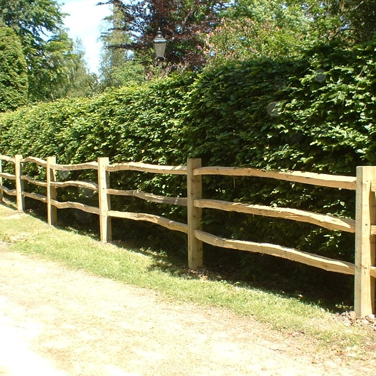 Domestic post rail fencing richard stubbs services