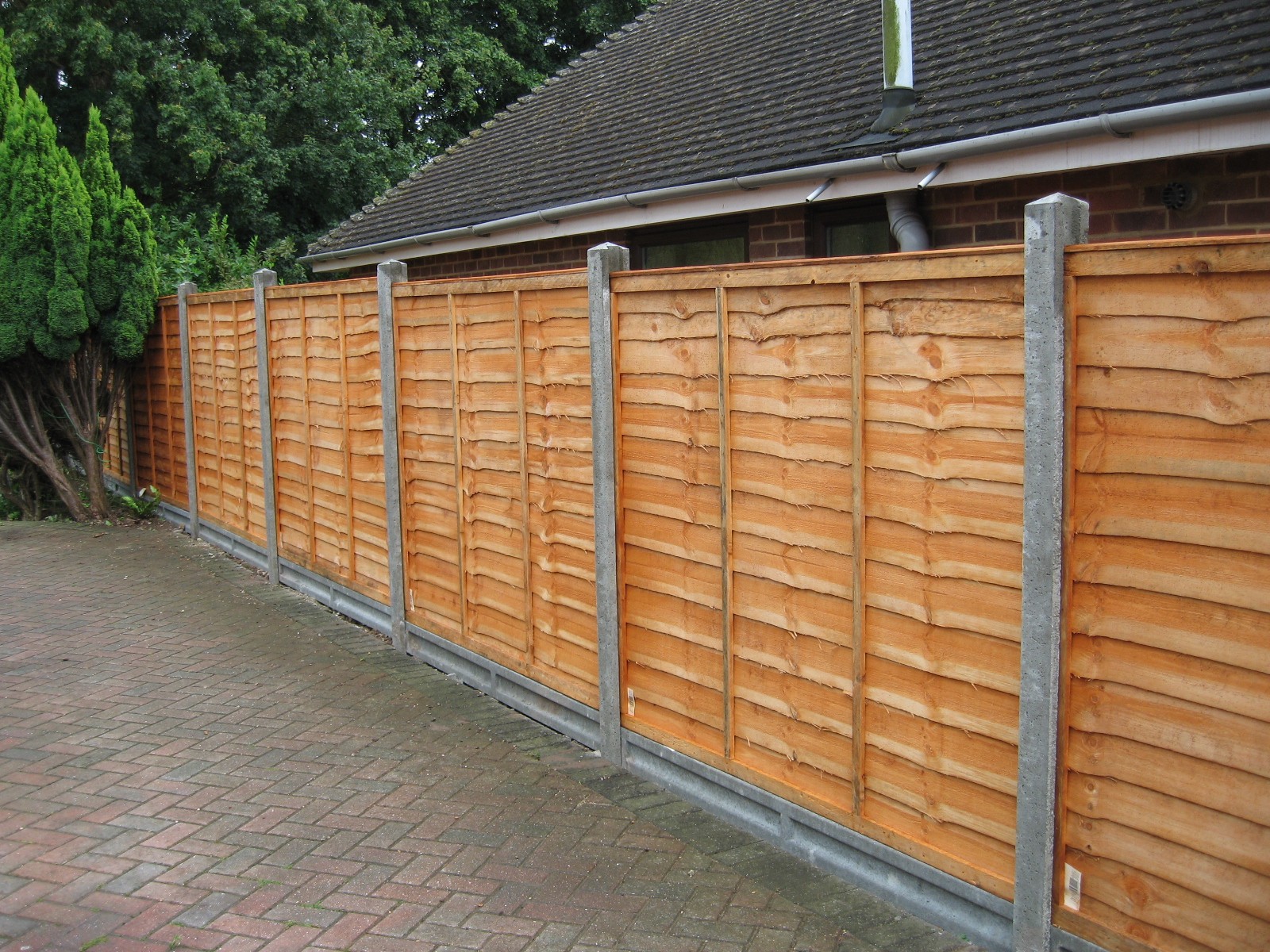 Panel Fencing Richard Stubbs Fencing Services
