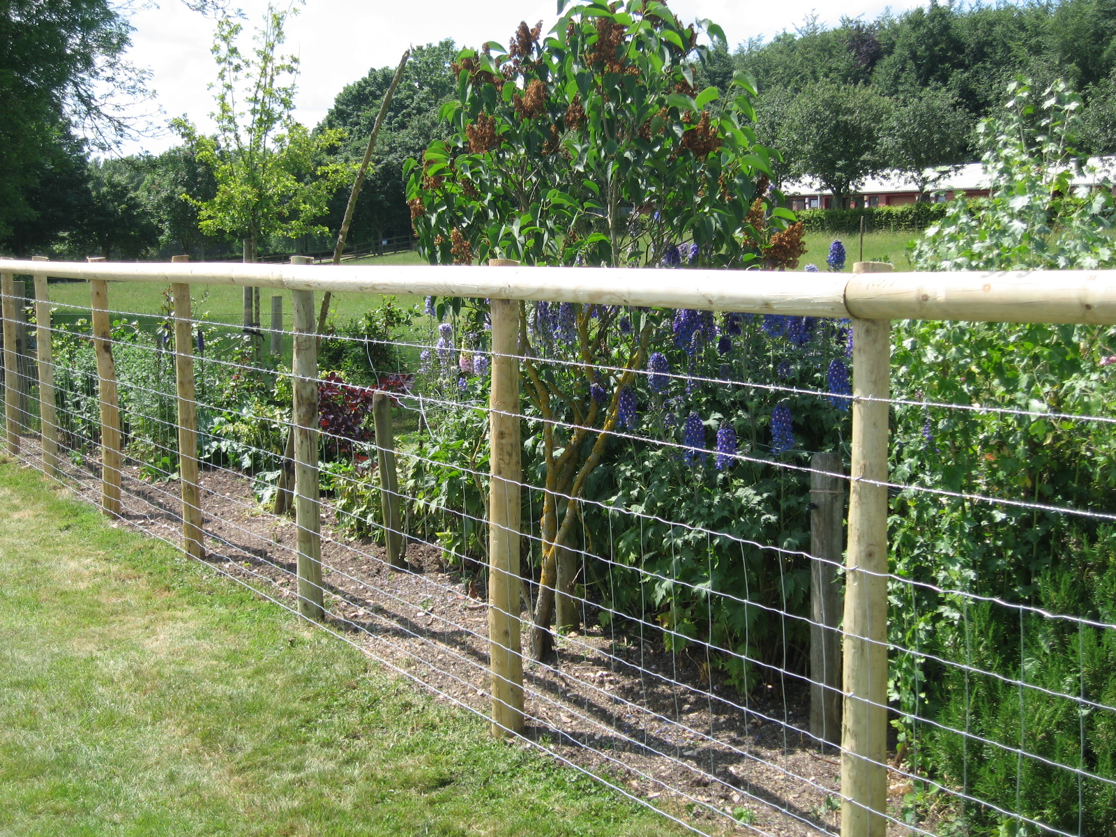 Fence page wire fencing