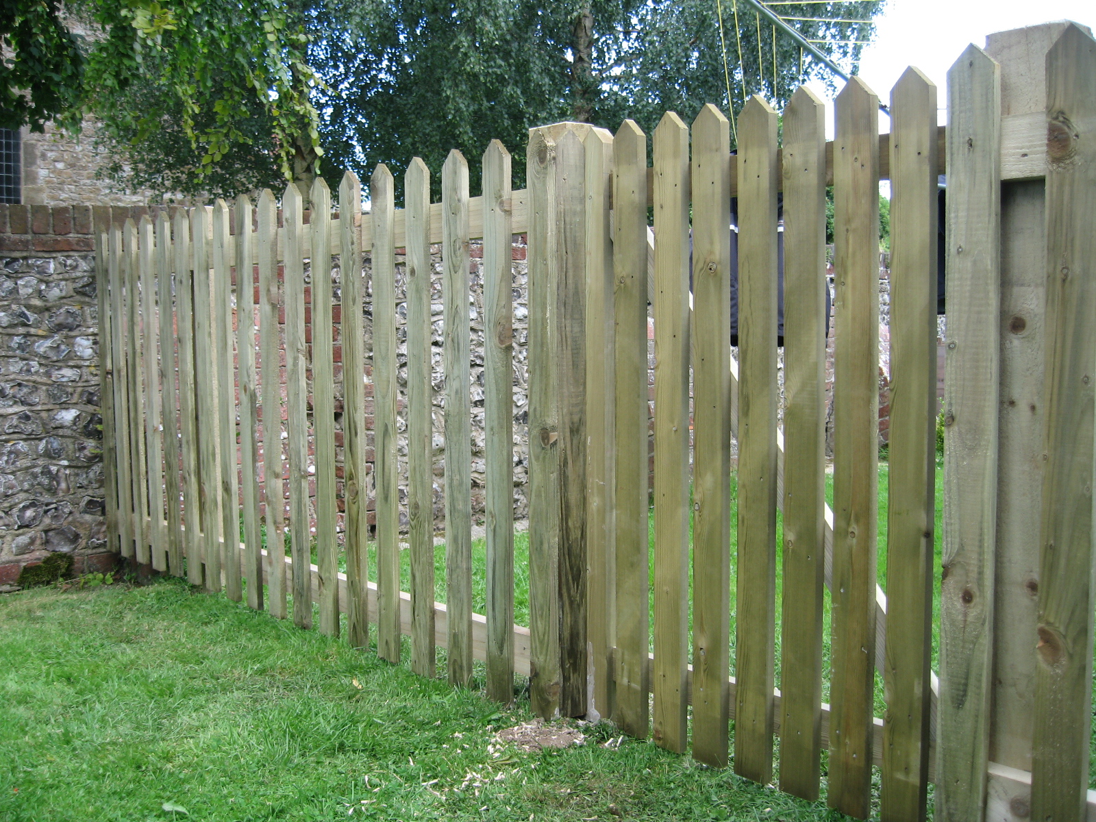 Picket Fencing Richard Stubbs Fencing Services