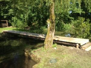 Telegraph-pole-bridge