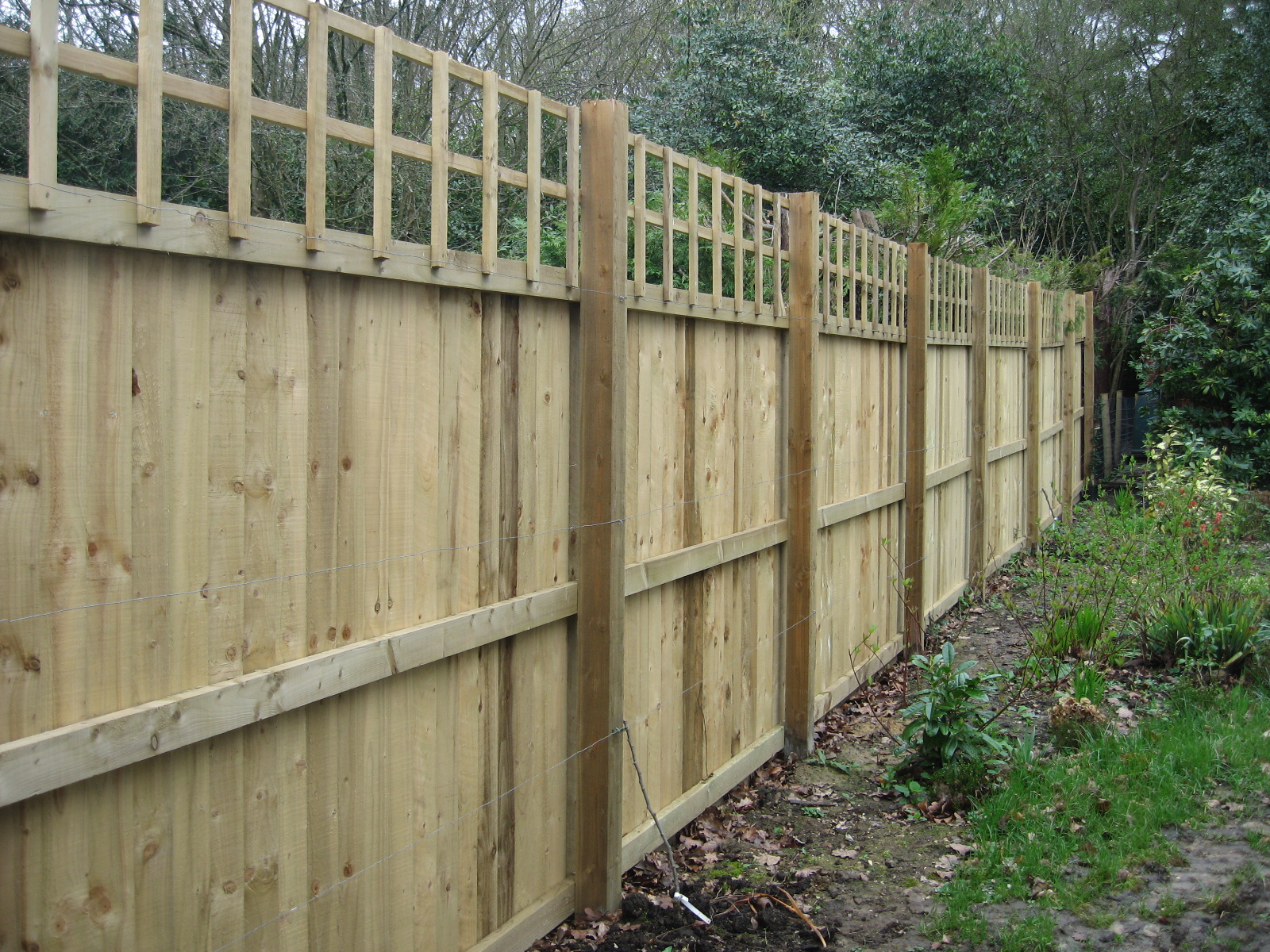 Domestic Fencing Richard Stubbs Fencing Services