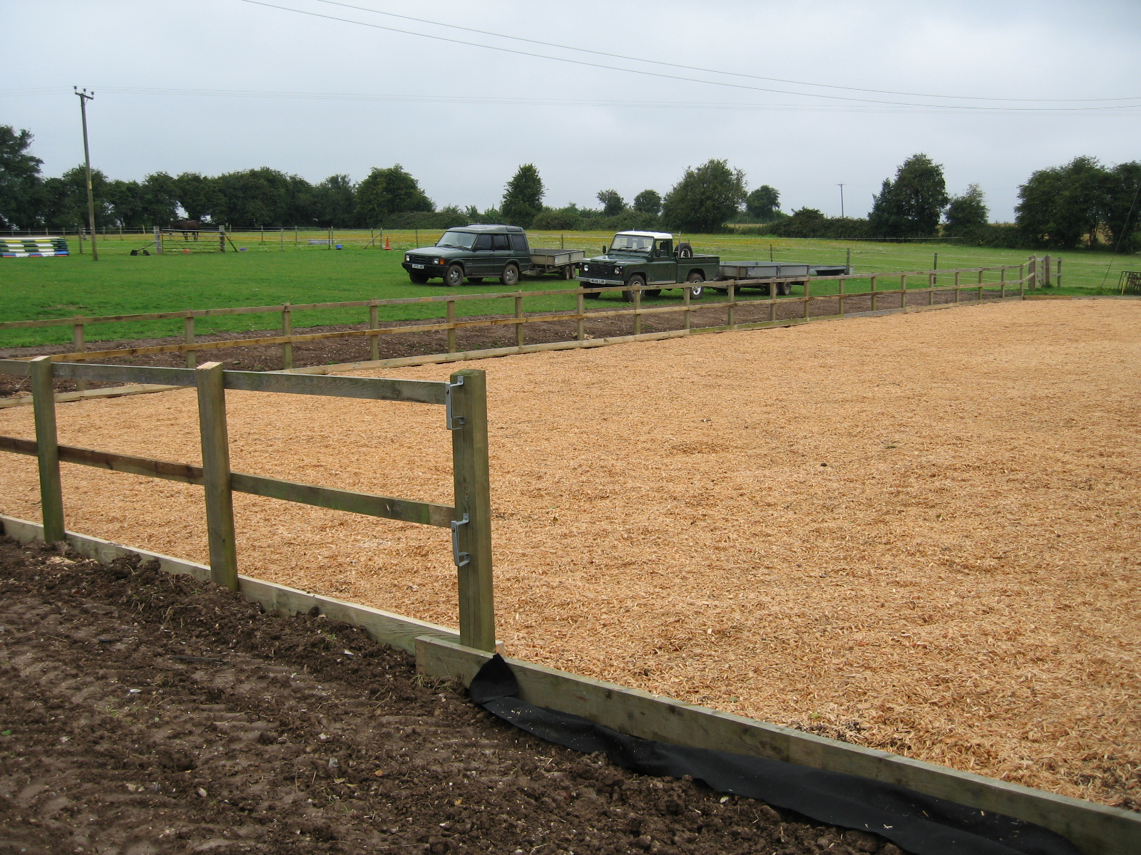 Riding Arena Richard Stubbs Fencing Services